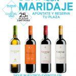 Cata de vinos con maridaje en restaurante carabanchel; cena con maridaje; wine and food;